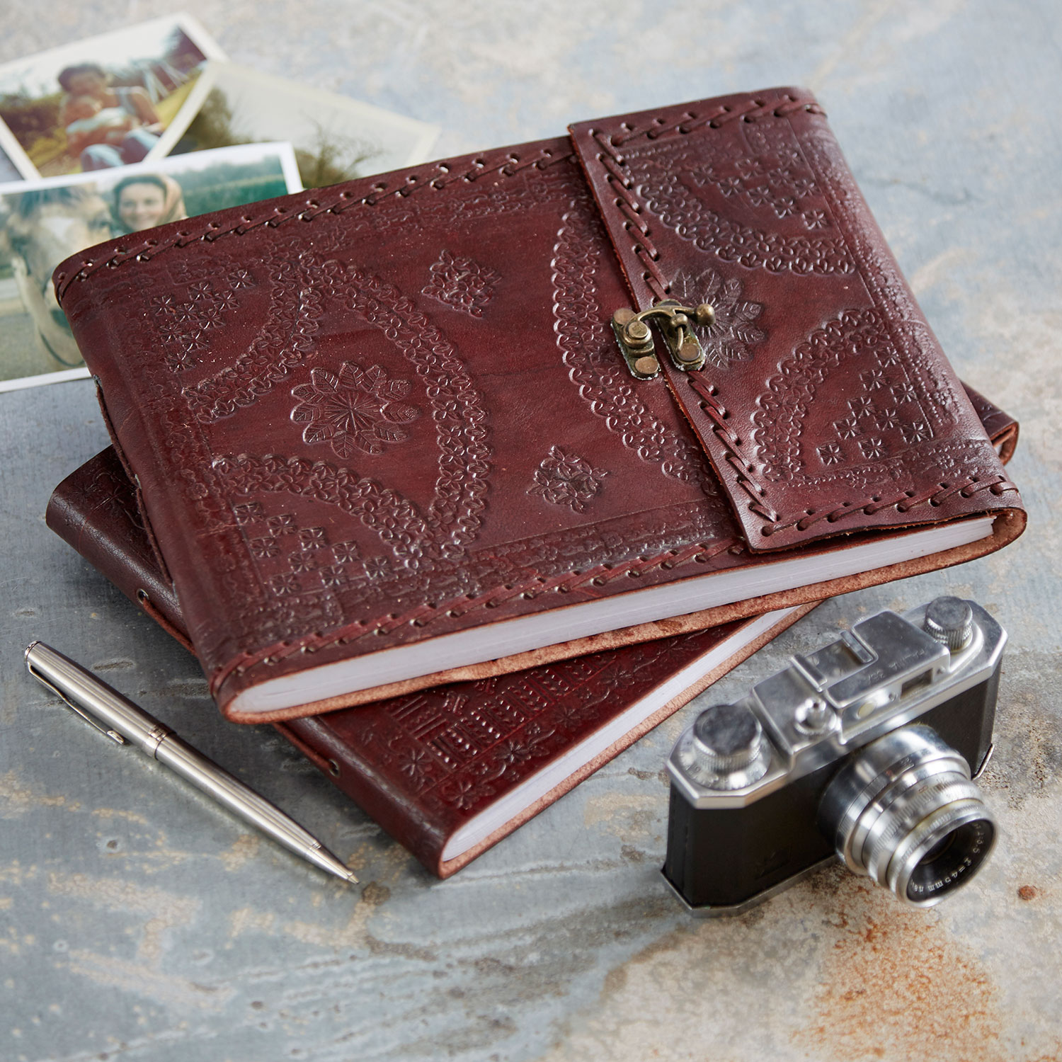 Indra Leather Photo Albums
