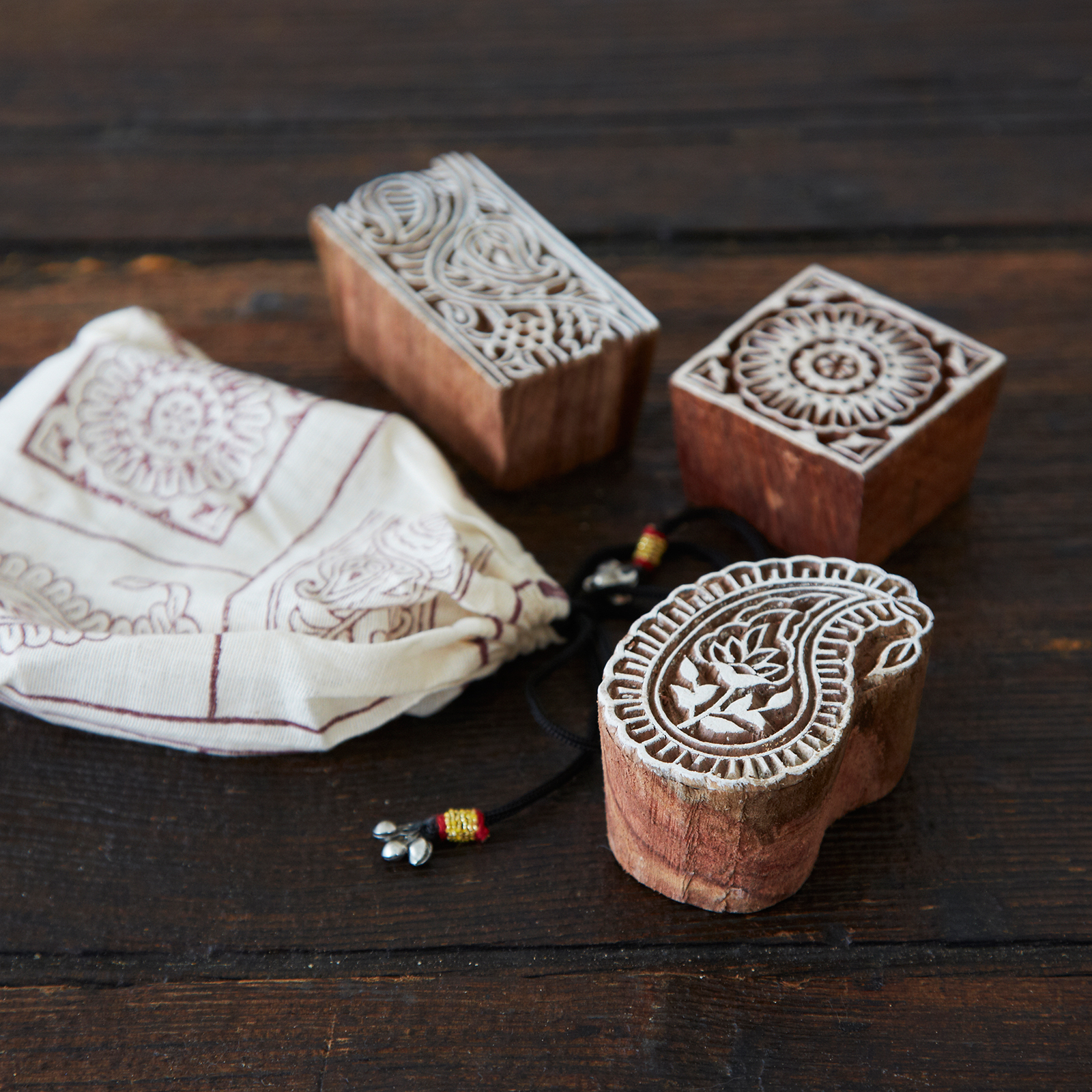 Wooden Printing Blocks