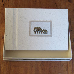Elephant Dung Photo Albums