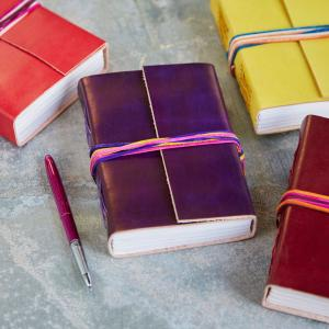 3 String leather Journals