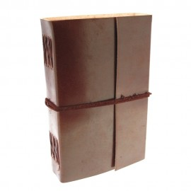 Extra Large Plain Leather Journal