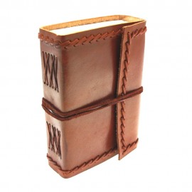Medium Stitched Leather Journal