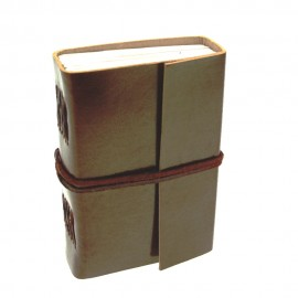 Small Plain Leather Journal