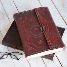 Indra A4 Stitched Embossed Journal