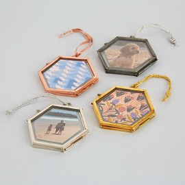 Alia Mini Hexagon Hanging Photo Frame
