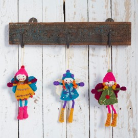 Handmade Felt Alpine Girls