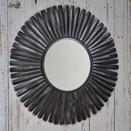 Amisha Feather Mirror