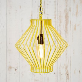 Asha Metal Wire Pendant Light