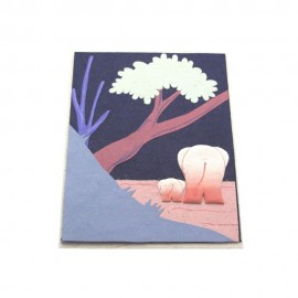 Eco Maximus Greeting Card - Blue