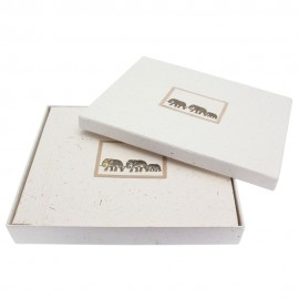 Large Elephant Dung Photo Album