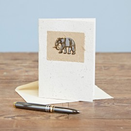Elephant Dung Greeting Card