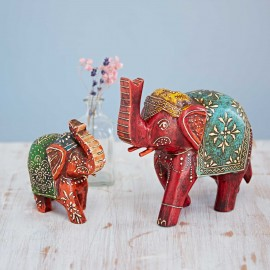Almirah Antique Style Small Elephant