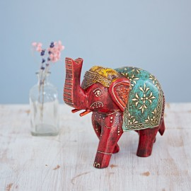 Almirah Antique Style Large Elephant