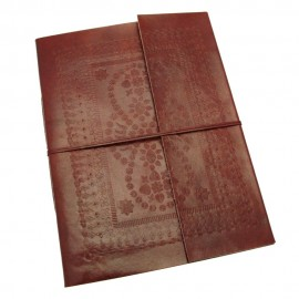 Extra Large Embossed Leather Album