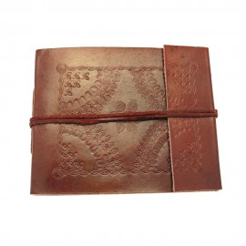 Small Embossed Leather Photo Album