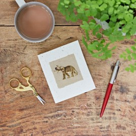 Small Elephant Dung Notebook