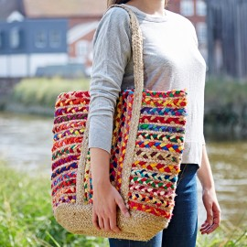 Cotton Jute Shopping Bag
