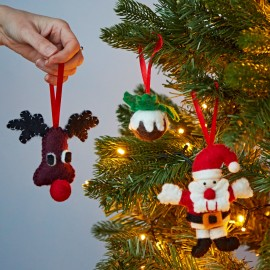 Felt Novelty Christmas Decorations
