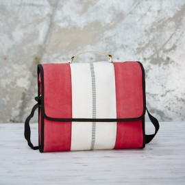 Fire Hose Messenger Bag