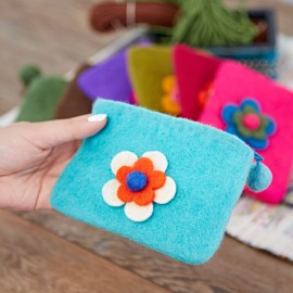 Felt Daisy Purse
