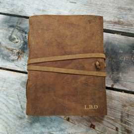 Personalised Buffalo Leather Journal