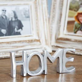 Recycled Stainless Steel Home Sign