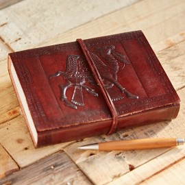 Indra Camel Leather Journal
