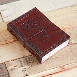 Indra Celtic Dragon Leather Journal