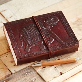 Indra Elephant Leather Journal
