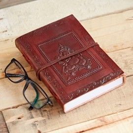 Indra Ganesh Leather Journal