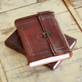 Indra Hefty Stitched Embossed Journal