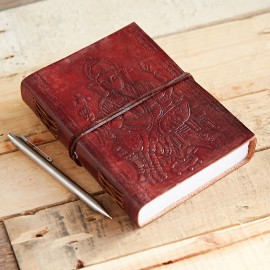 Indra Large Ganesh Leather Journal