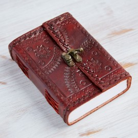 Indra Med Stitched Embossed Journal