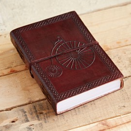 Indra Penny Farthing Leather Journal