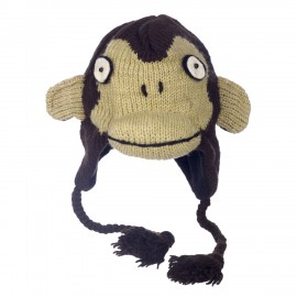 Japanese Monkey Woollen Animal Hat