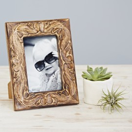"Jaraja Mango Wood Photo Frame 6"" x 4"""