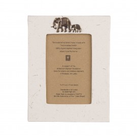 Large Elephant Dung Photo Frame