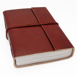 Large Plain Leather Journal