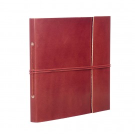 Large Plain Leather Album