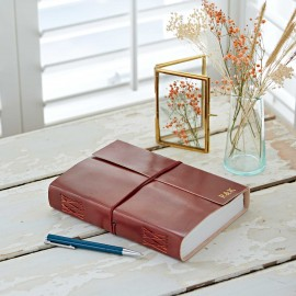 Personalised A5 Leather Journal