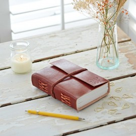 Personalised A6 Leather Journal