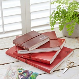 Personalised Fair Trade Full Cover Leather Photo Albums