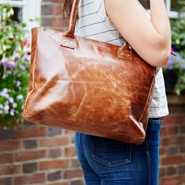 Personalised Haath Leather Bag