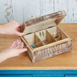 Antique Effect Mango Wood Box