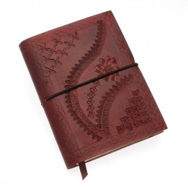 Medium Chocolate Embossed Notebook