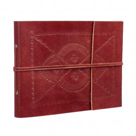 Medium Embossed Leather Album