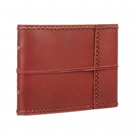 Medium Stitched Leather Album