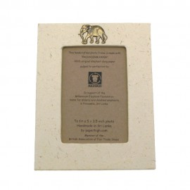 Medium Elephant Dung Photo Frame