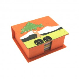 Eco Maximus Elephant Dung Note Holder