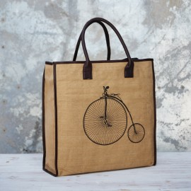 Penny Farthing Shopper Bag